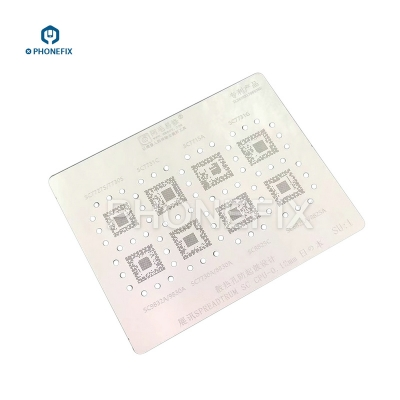 AMAO Spreadtrum CPU SC7731 7715 8825 9830 Reballing Stencil Template