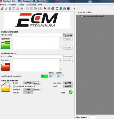 Cracked ECM Titanium 1.61 full version with 2000+ Drivers