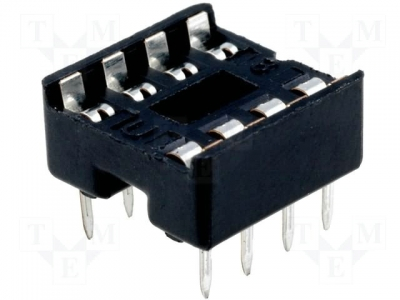 8 pin DIP IC socket 8-Pin DIP IC Tester Socket Solder Type