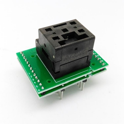 QFN12 programmer adapter 3*3mm 0.5mm QFN12 IC Socket