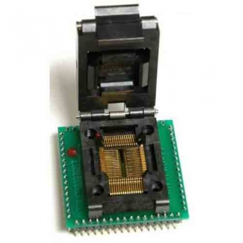 QFP64 to DIP64 64 pin ic socket 0.8mm pitch QFP64 adapter