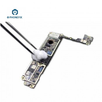 phone motherboard cleaning Medical cotton ball phone repair cleaning