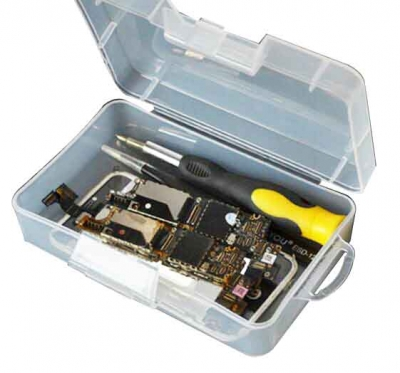 Metal Parts Screws repair Tools Container component storage tool box