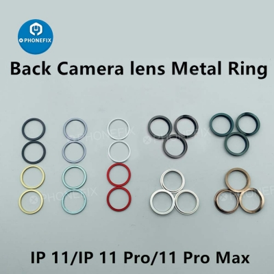 Metal Rear Camera Lens Protective Cover For iPhone 11 Pro Max