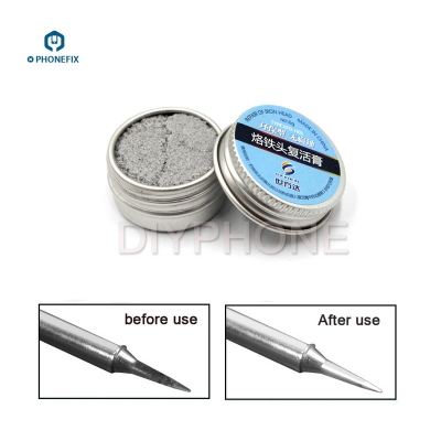 Soldering Tip Refresher cleaning cream helper fix black layer Resurrection