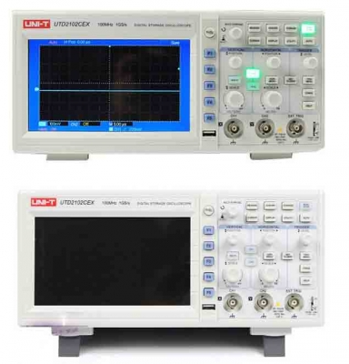 UNI-T UTD2102CEX Digital Oscilloscope 100MHz 2 Channels 1Gs/s