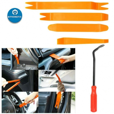 5pcs Auto Trim Removal Tool Kit Plastic Fastener Remover Pry Tools