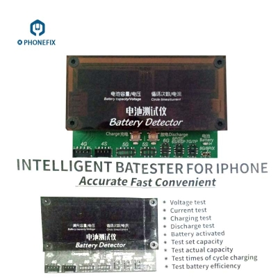 All in One iPhone 5S 6 7 8 X Battery Diagnostic Detector Tester