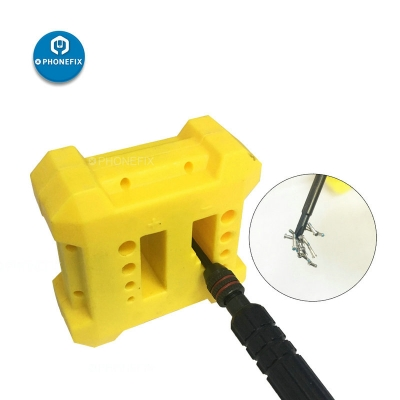 PHONEFIX Yellow Magnetizer Demagnetizer Screwdriver Pick Up Hand Tool