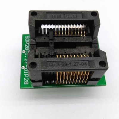 SOP20 IC test socket 1.27mm SOP20 Programming adapter