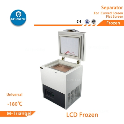 -180℃ Refrigerating machine Mobile Phone Curved Screen Freezing Separator