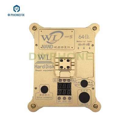 WL 64Bit iPhone 5S 6 6P iPad Nand Test fixture Repair NAND Error