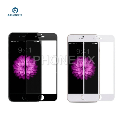iphone 6 6S 7 8 X Screen Protective Glass Film 3D Curve Edge
