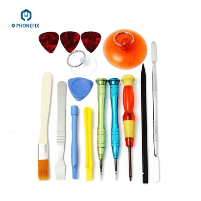 VIPFIX 15pcs Apple iPhone Repair Tool Kit DIY iPhone FIX Tool