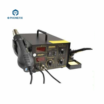 SAIKE 852D+ Digital hot Air Rework station and Soldering Iron 400W
