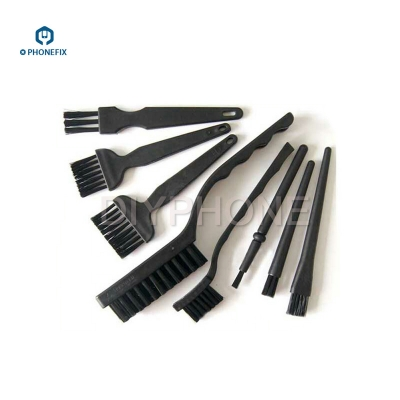 8pcs Anti Static Brush for phone PCB Repair BGA Cleaning Tool