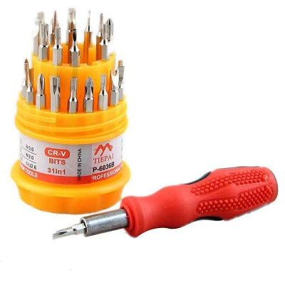 VIPFIX 31 in 1 Multi-Bit Screwdriver Phone Pocket Repair Hand Tool