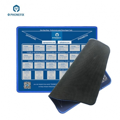 iPhone NAND Memory Capacity Mouse Pad Lookup Table Mouse Mat