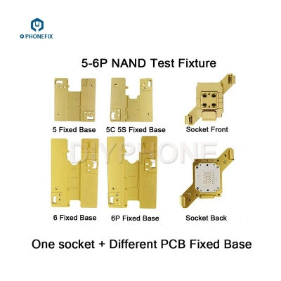 WL iphone motherboard test fixture iphone 5S 6 6S 7 8 NAND test fixture