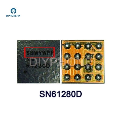 iphone 7 8 Camera IC U2301 SN61280D U3801 Fingerprint IC U3702
