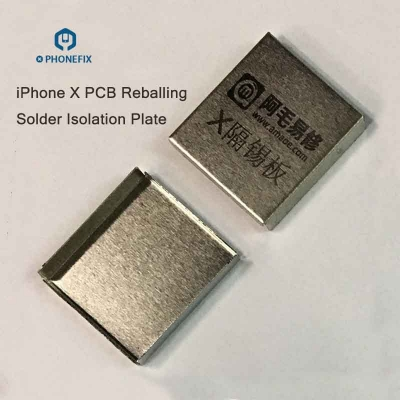 iPhone X XS MAX PCB Solder Shielding Cover Heat Resistant Protector
