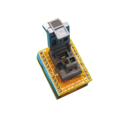 WSON10 MLF10 DFN10 To DIP10 Test Socket 0.5mm 3*3mm