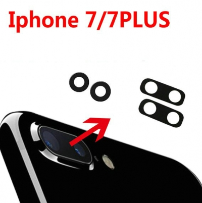 iphone 6 6s 7 7P 8 X Back Camera lens glass replacement parts