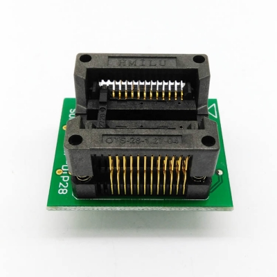 Simple SOP24 to DIP24 IC test socket adapter 1.27mm 300mil
