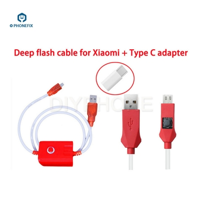 XIAOMI DEEP FLASH CABLE Open port 9008 Support all BL locks [W019]