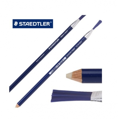 Staedtler 526 61 Mars Rasor Rubber Pencil Eraser with Cleaning Brush