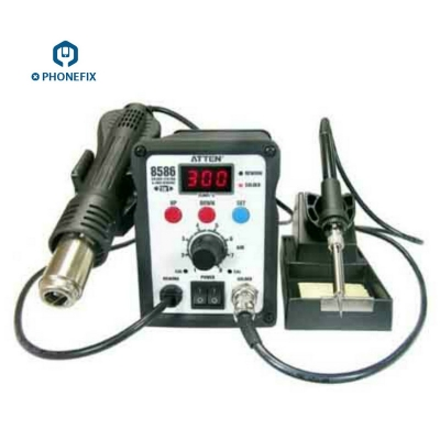 ATTEN AT8586 SMD Rework station soldering hot air soldering station