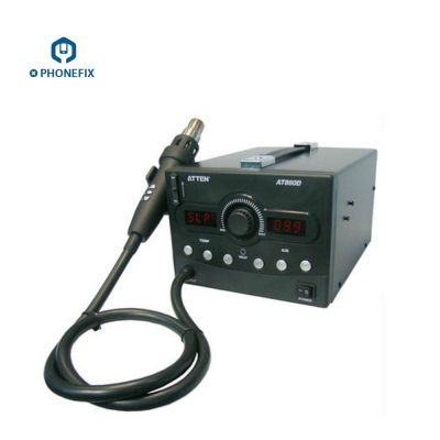 ATTEN AT860D LED Digital Lead-Free ESD Hot air gun Solder Station