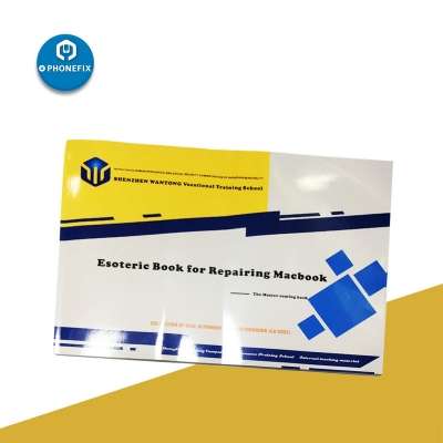 A Book of Macbook repair case and repair guide: professional repair book