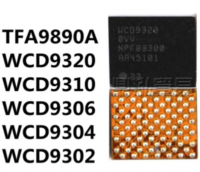 Xiaomi Max Note 3 Audio Frequency IC WCD9310 9320 9302 9304
