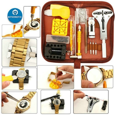 149pcs Watch Repair tool kits Watch Battery Band Link Pin Tool Set