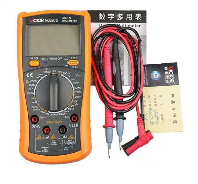 VC890D Digital Multimeter Mobile Phone Motherboard Fault Testing Repairing