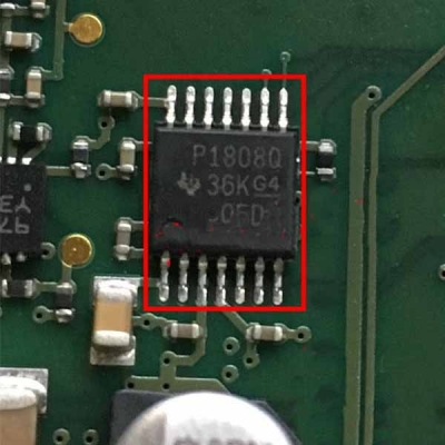 P1808Q Car Engine Computer Board Auto ECU Programmer Chip