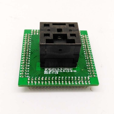 QFN48 IC test socket 7*7 0.5mm QFN48 Programming adapter