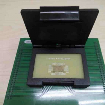 Specialized BGA149 flash memory socket for up818 up828