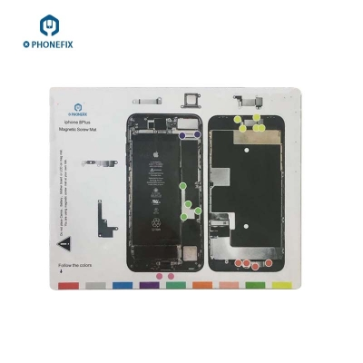 iphone 8 X XS MAX XR Magnetic Screw Mat Repair Technician disassembly Pad