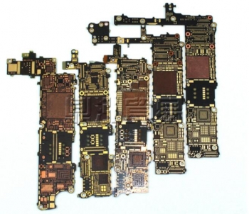 iphone Bare logic motherboard for 5S 6 plus 6S 7 7P 8 X Circuit Board