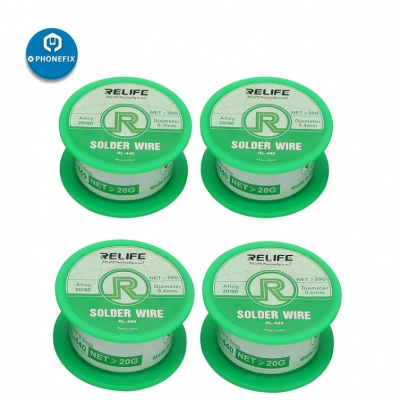 RELIFE 20g Active Soldering Wire Rosin Core Solder Wire no clean Lead