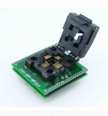 0.8mm TQFP44 QFP44 to DIP40 40pin programmer Adapters