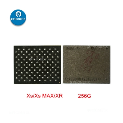 IPhone XS MAX XR 256G 512G Nand Flash Memory Chip Replacement Parts