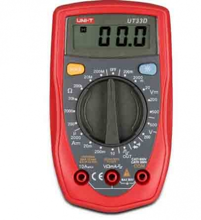 UNI-T UT33D Digital Multimeter Palm Size Phone Repair Multimeter