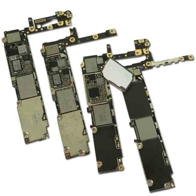 damaged junk iphone 5S 6 6S 6P 7 motherboard training repair skill