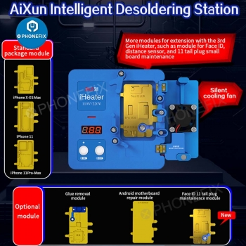 JC Aixun iHeater Pro Intelligent Desoldering Station for iphone X-11pro max