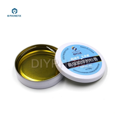 high purity Rosin Flux 30g Iron Box no impurity welded Rosin Soldering Flux