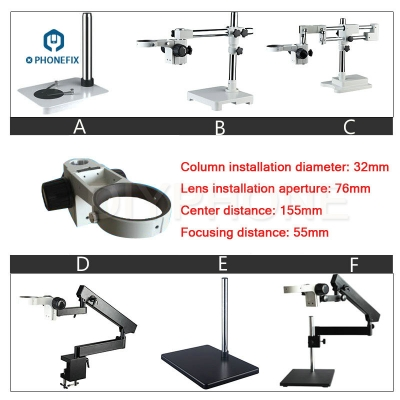 Microscope extension Holder bracket base Microscope arm fixture