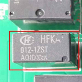 HFKA 012-1ZST Car Computer Board Relay Electronic Control Unit